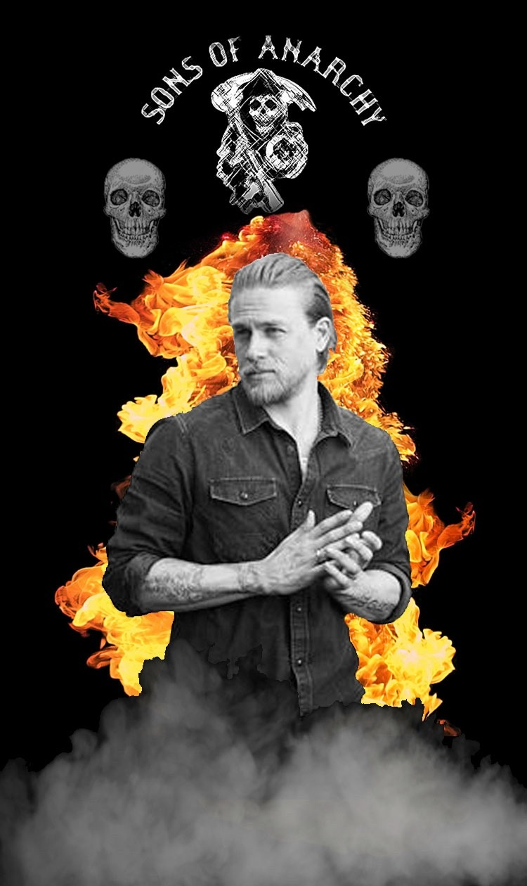 Charlie Hunnam Sons Of Anarchy Wallpaper Per Request Poster