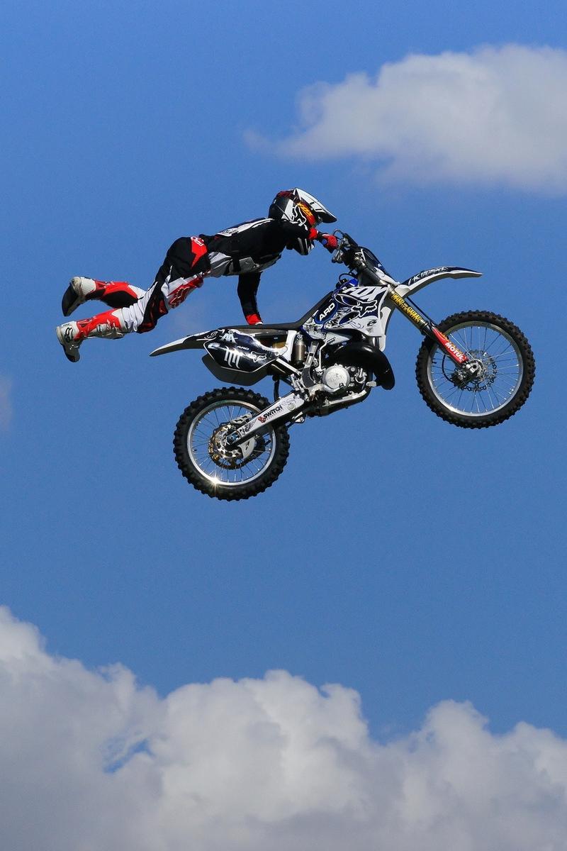 Wallpaper Man, Jump, Motocross, Motorcycle - Motor Cross Hd , HD Wallpaper & Backgrounds