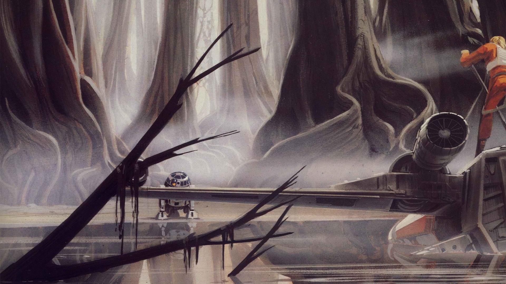 Original Star Wars Concept Art Hd 2497609 Hd Wallpaper Backgrounds Download