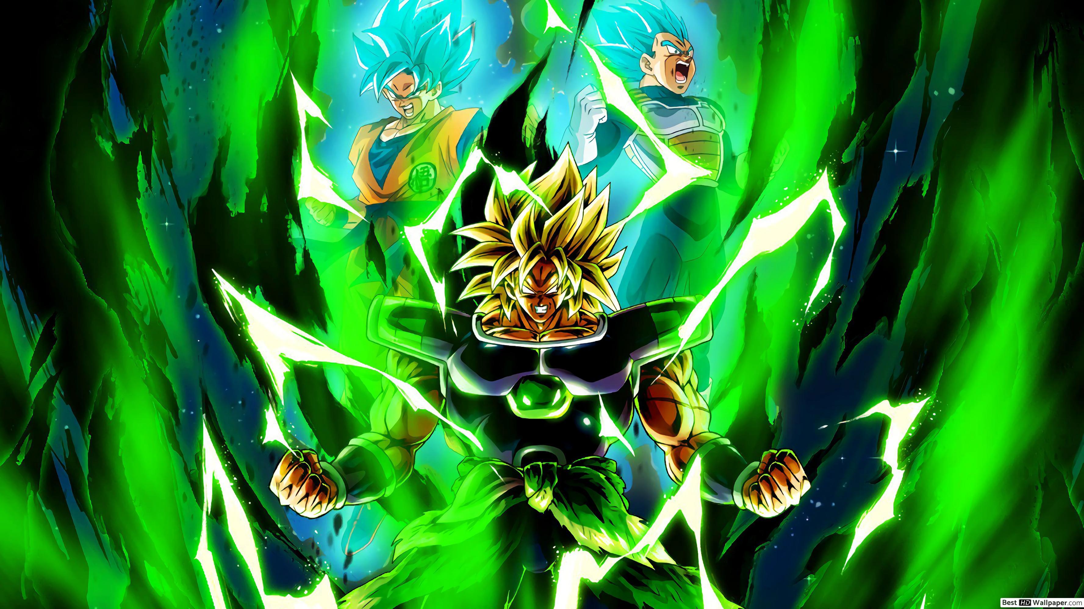Super Saiyan Dragon Ball Super Broly 2498423 Hd Wallpaper Backgrounds Download