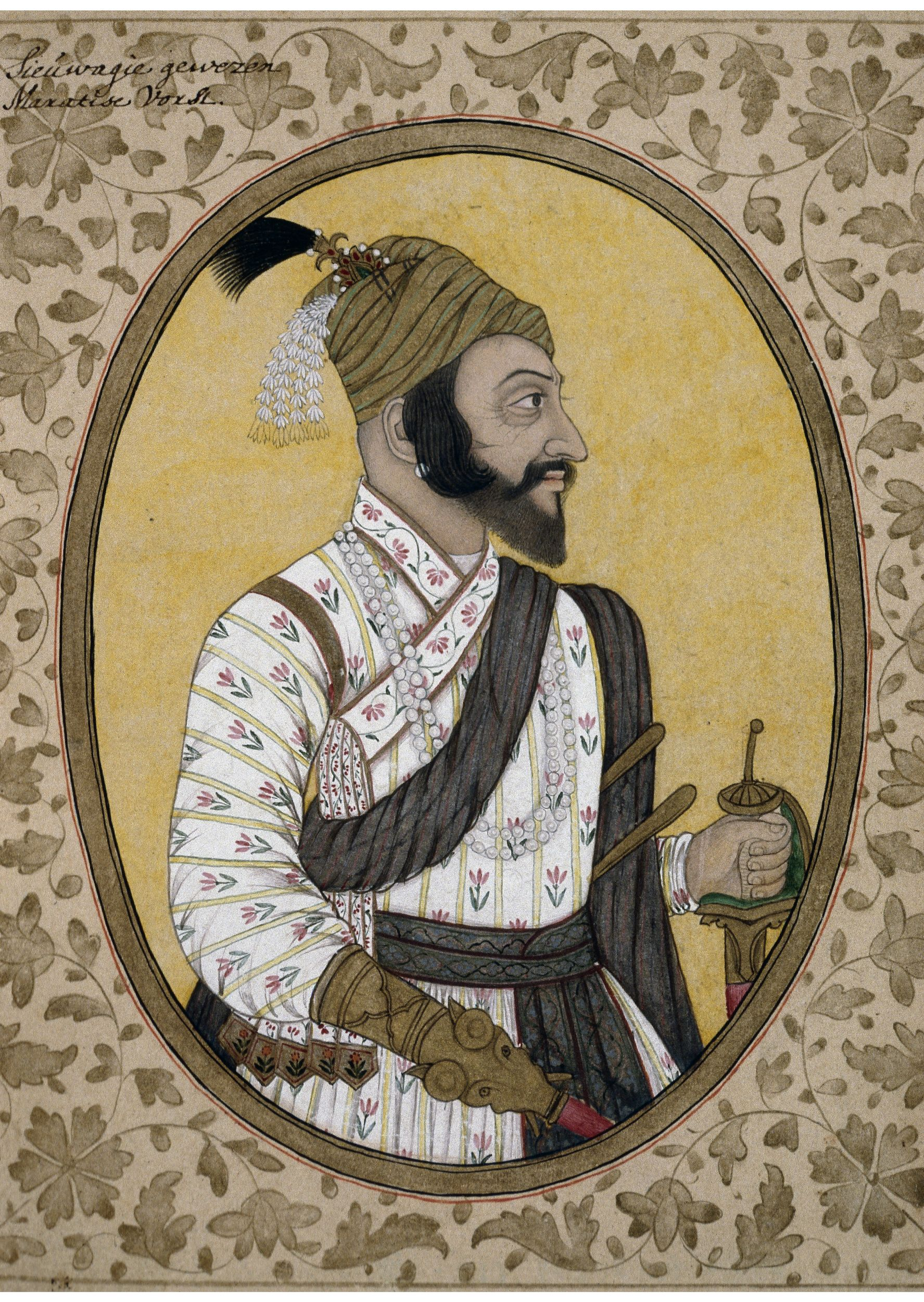 Shivaji British Museum - Shivaji Maharaj Original Painting , HD Wallpaper & Backgrounds