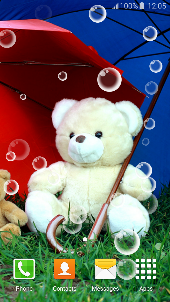 Live Wallpaper Teddy Bear , HD Wallpaper & Backgrounds