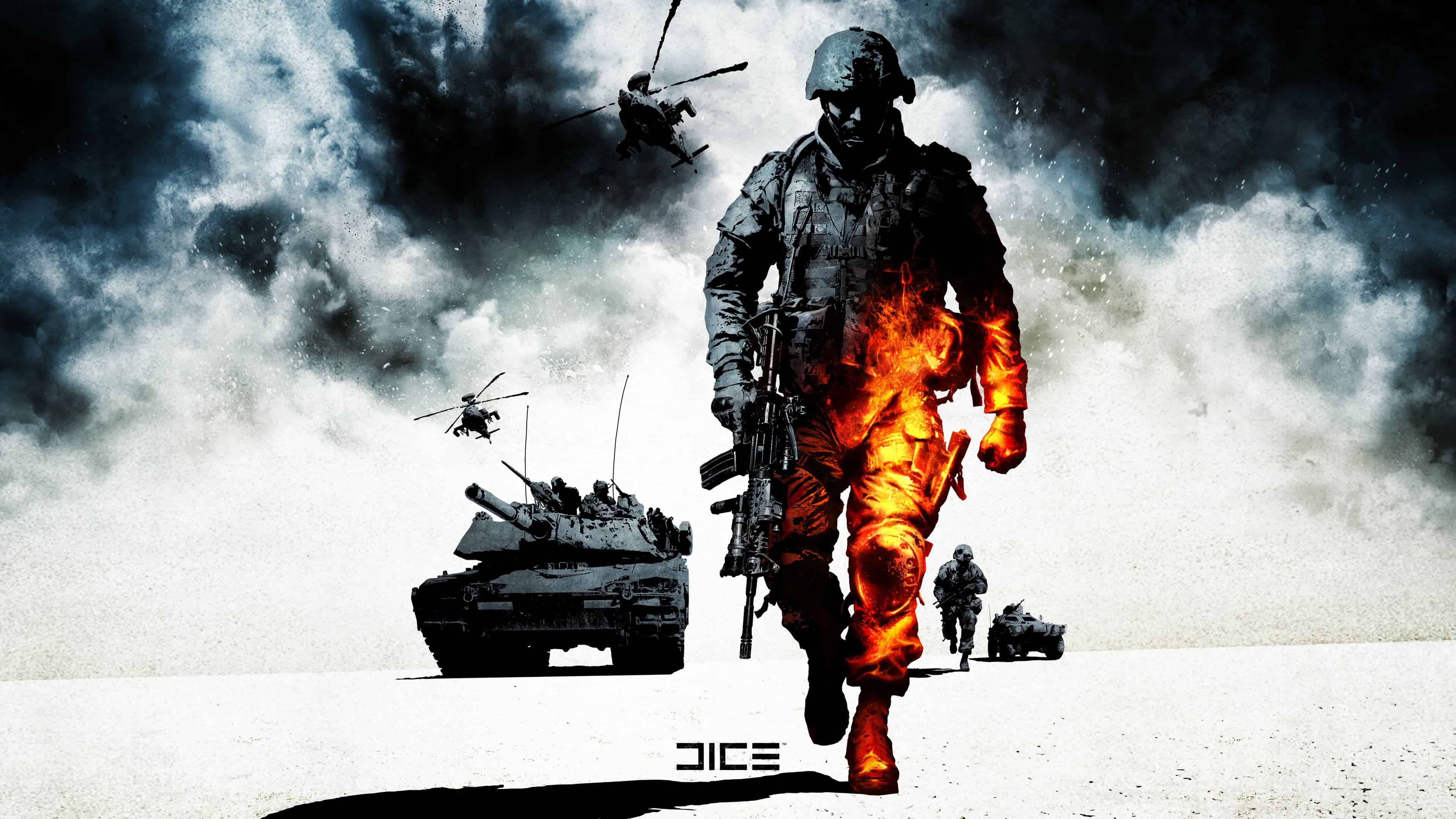 Battlefield Bad Company 2 Key Art On Behance Indian - Battlefield Bad Company 2 , HD Wallpaper & Backgrounds