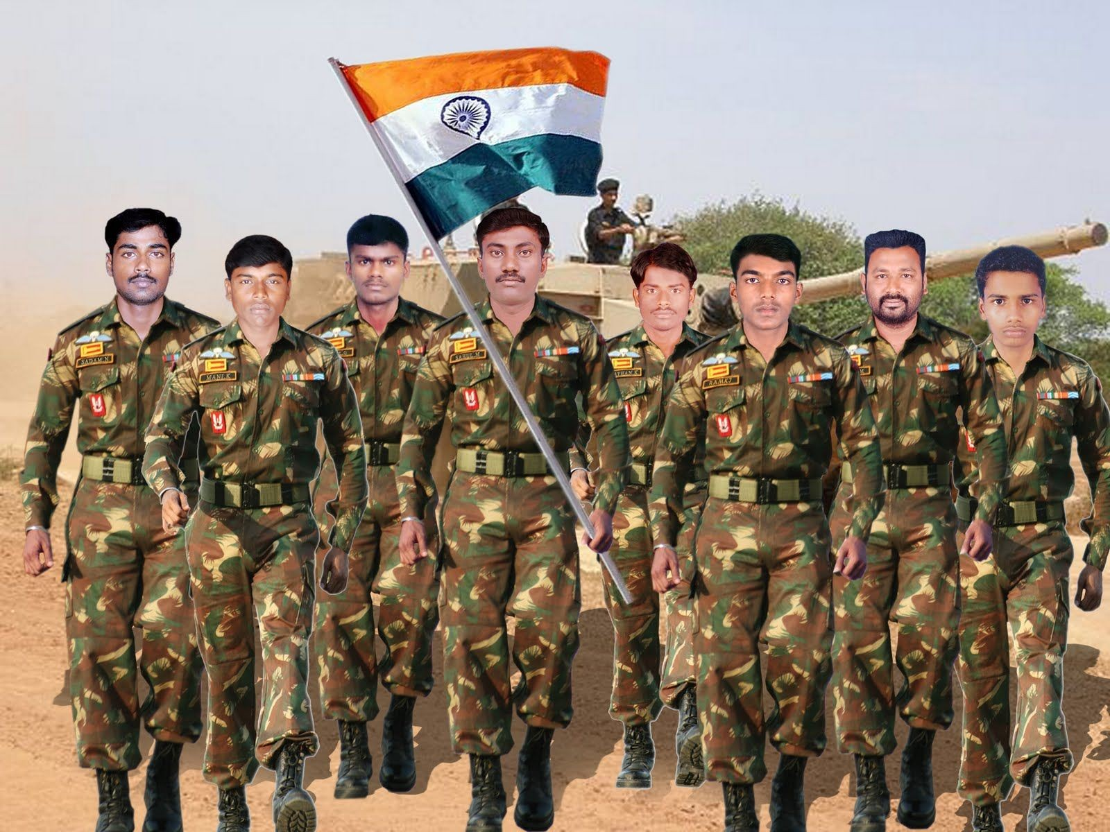 Indian Army Photos Hd Wallpaper India And Pakistan Flag 251555 Hd Wallpaper Backgrounds Download