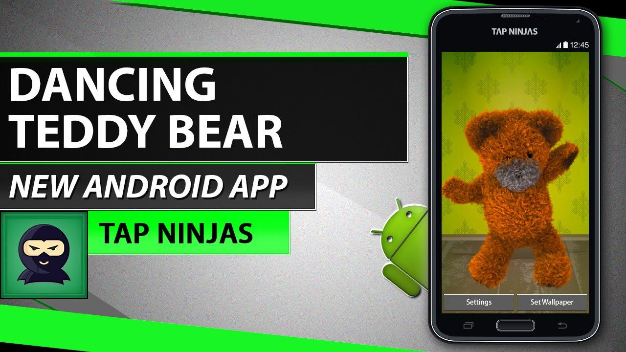 Dancing Teddy Bear Free Live Wallpaper Smartphone