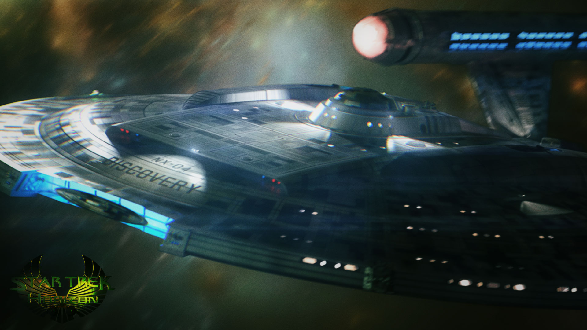 Star Trek Horizon Image Library - Star Trek Discovery Ship , HD Wallpaper & Backgrounds