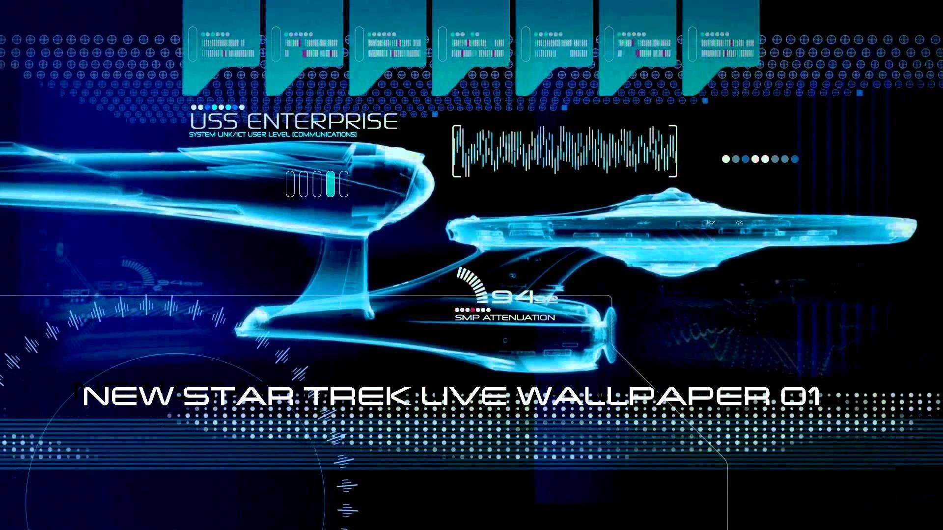 New Star Trek Live Wallpaper - Star Trek Discovery Lcars , HD Wallpaper & Backgrounds