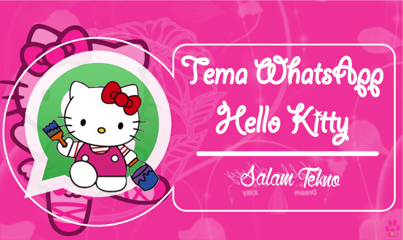 Tema Whatsapp Hello Kitty - Hello Kitty (#257032) - HD Wallpaper