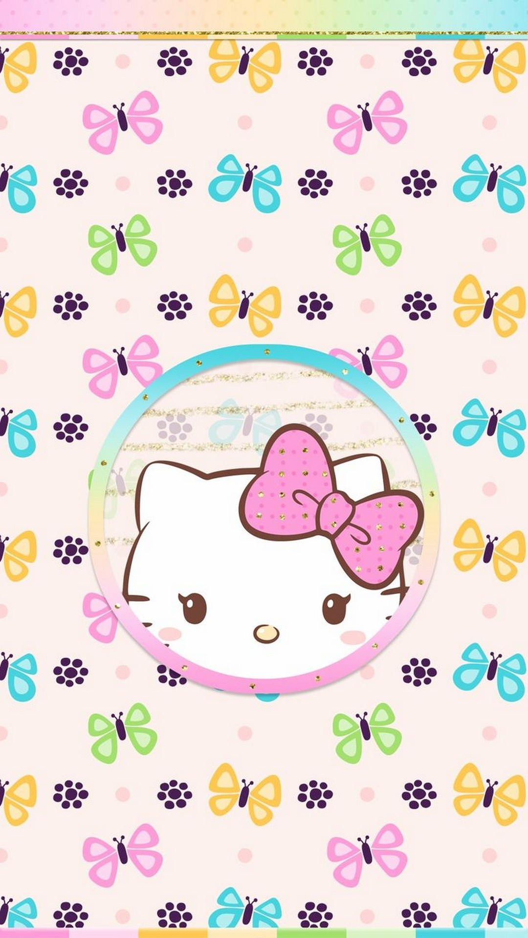 Hello Kitty Hd Wallpaper For Iphone With Image Resolution Cute