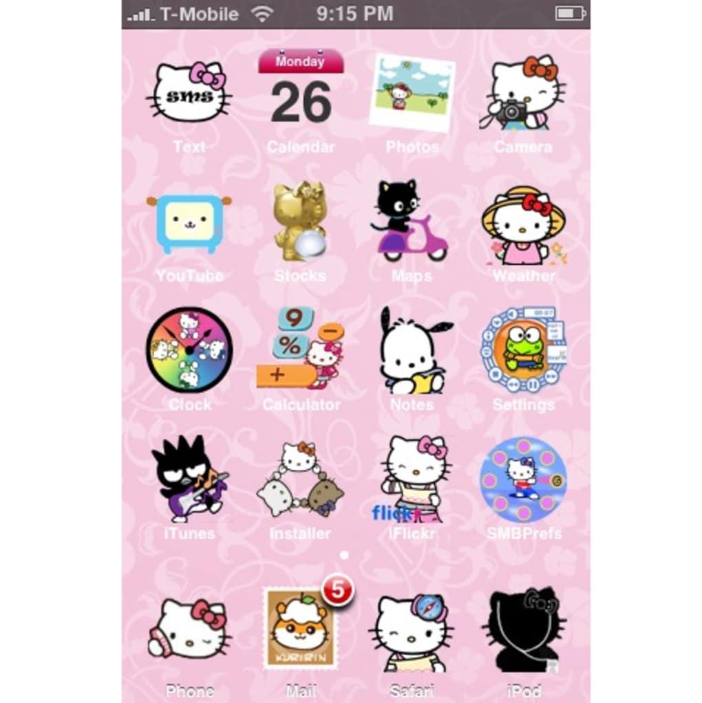 Hello Kitty Theme Hello Kitty Iphone Theme 257323 Hd