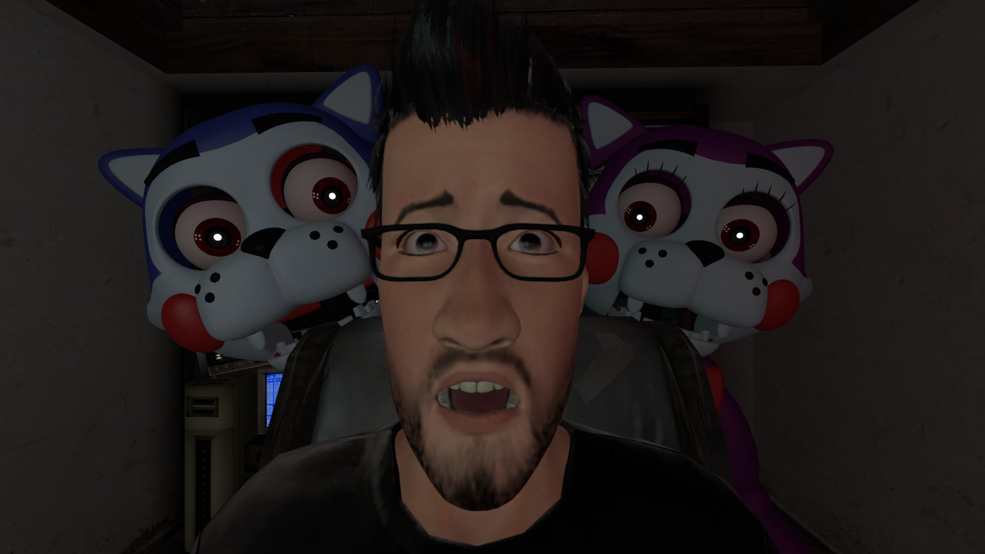 Sfm Markiplier Play S Five Nights At Candy S Five Nights At