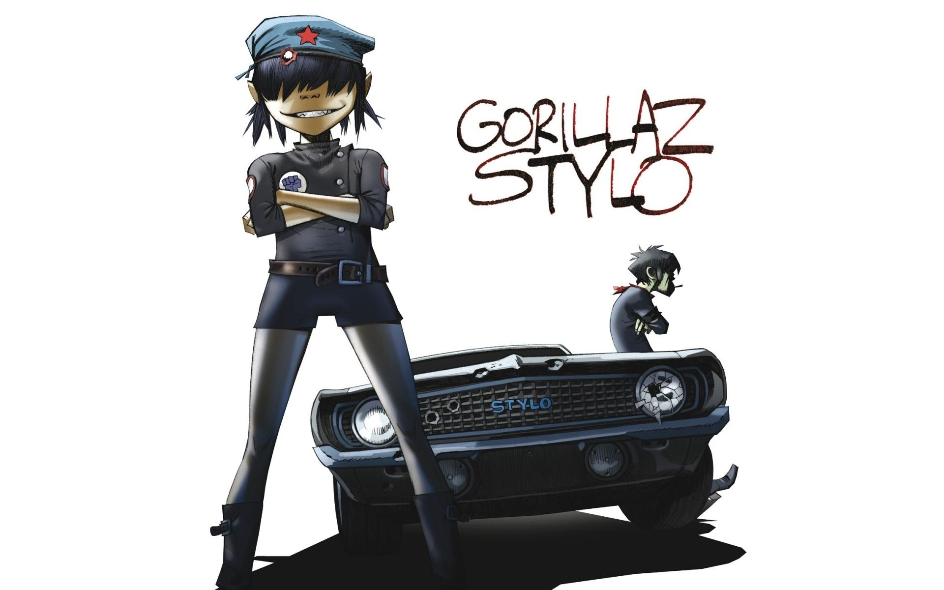 Wallpapers Gorillaz Noodle Stylo Music Hd Iphone Ipad