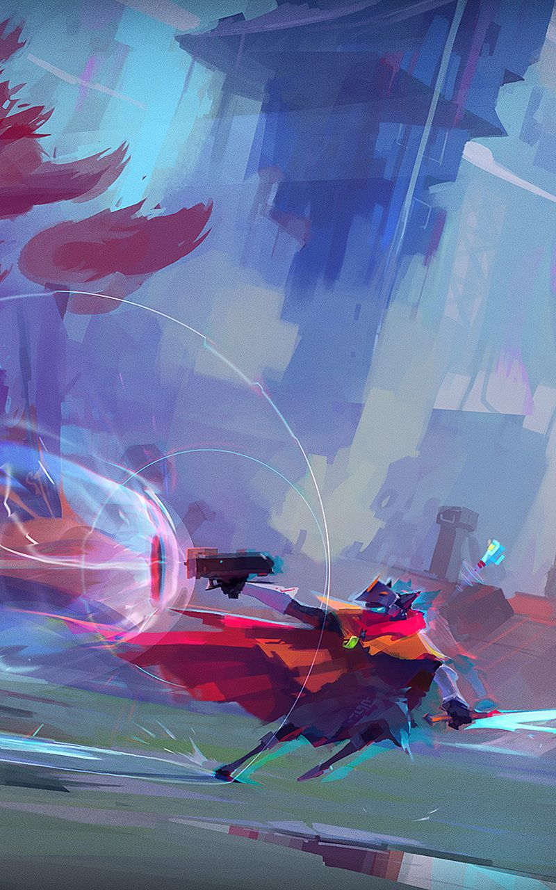 Hyper Light Drifter Wallpaper Mobile 2501545 Hd Wallpaper