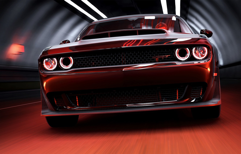 Photo Wallpaper Auto, The Game, Machine, Dodge, Challenger, - Dodge Challenger , HD Wallpaper & Backgrounds