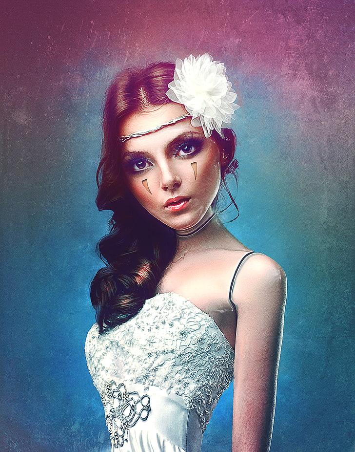 Kendall Jenner Vector Art, Girl, Digital Art, Cute, - Girls Art Images Download , HD Wallpaper & Backgrounds
