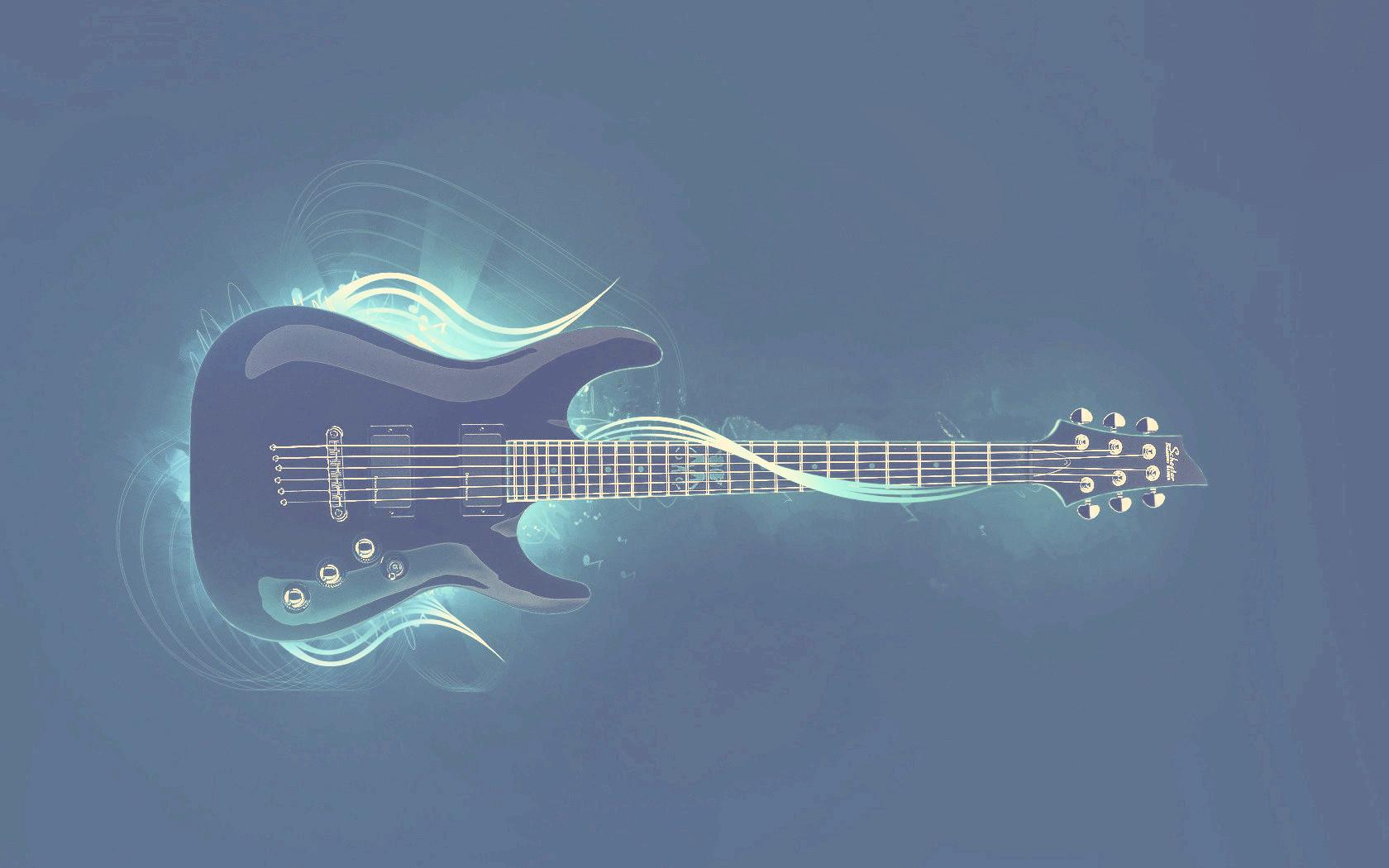 Rock Schecter Electric Guitar - Squire Strat Guitar Tremolo , HD Wallpaper & Backgrounds