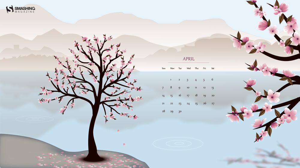 Apr 19 Hanami Full - Desktop Wallpaper April 2019 , HD Wallpaper & Backgrounds