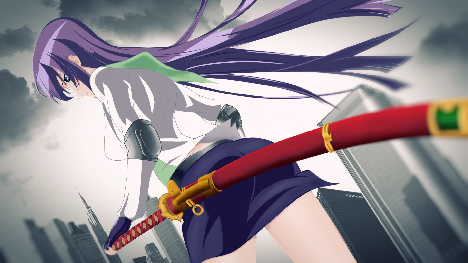 Free Download Highschool Of The Dead Wallpaper Id Highschool Of