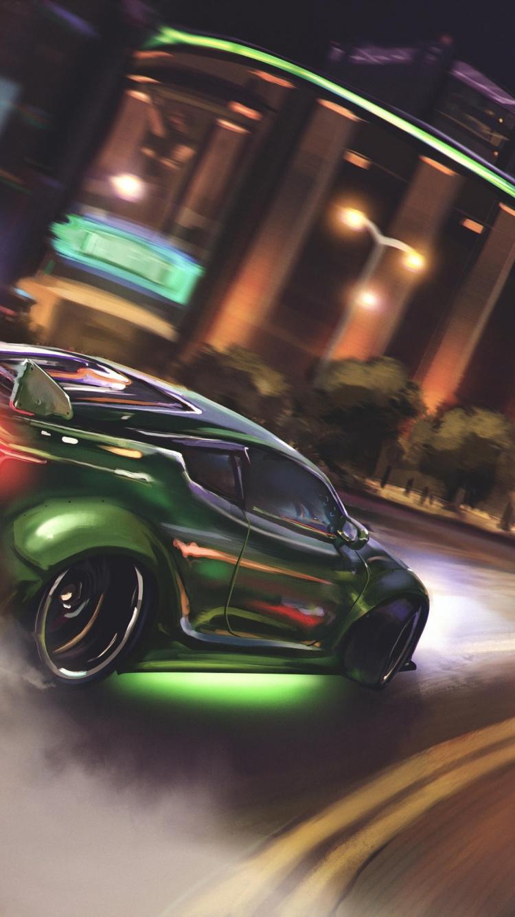 Drift Green Sports Car Wallpaper Drift Car Wallpaper Iphone 2508444 Hd Wallpaper Backgrounds Download