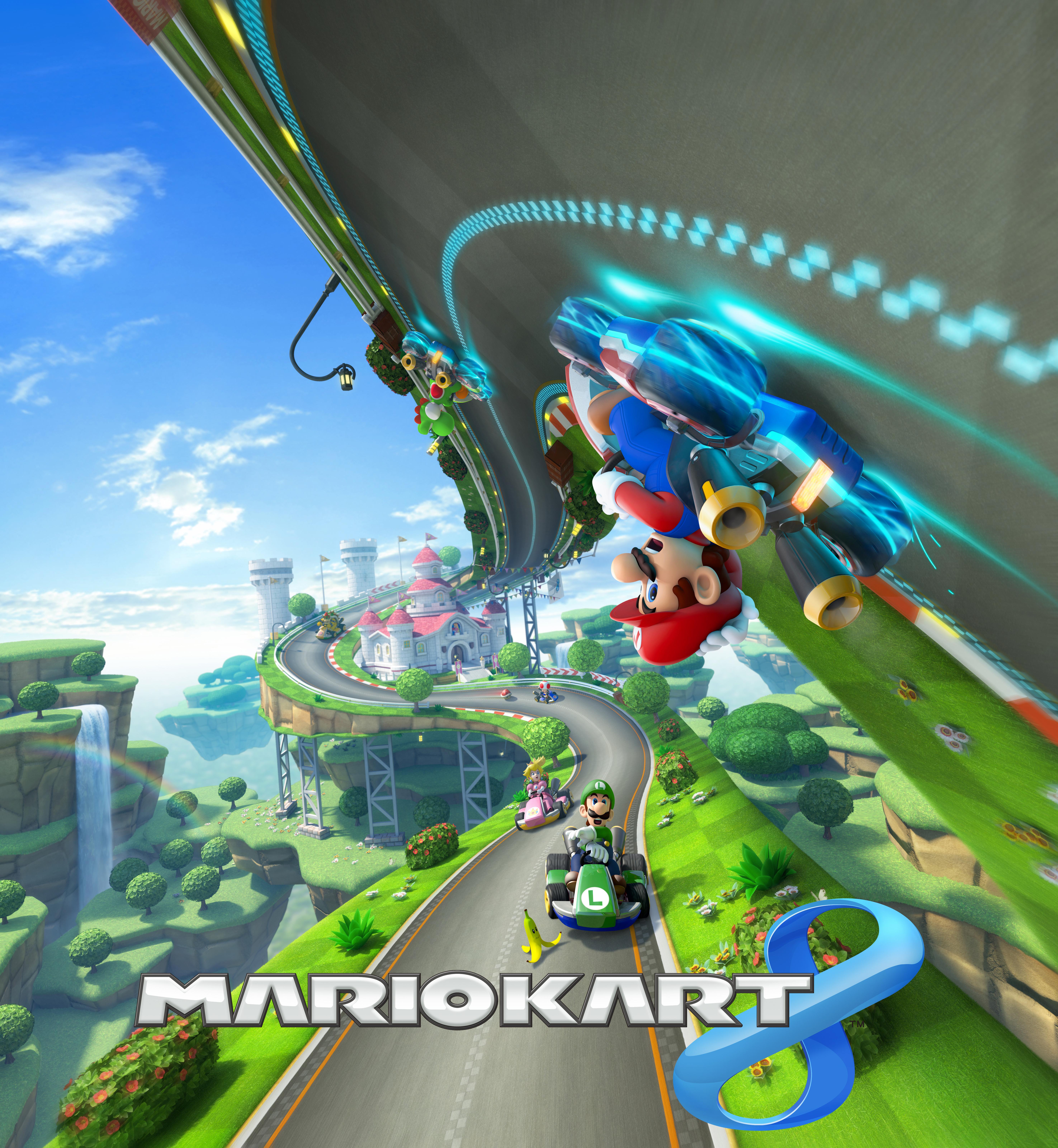 Mario Kart 8 Art 2512999 Hd Wallpaper Backgrounds Download