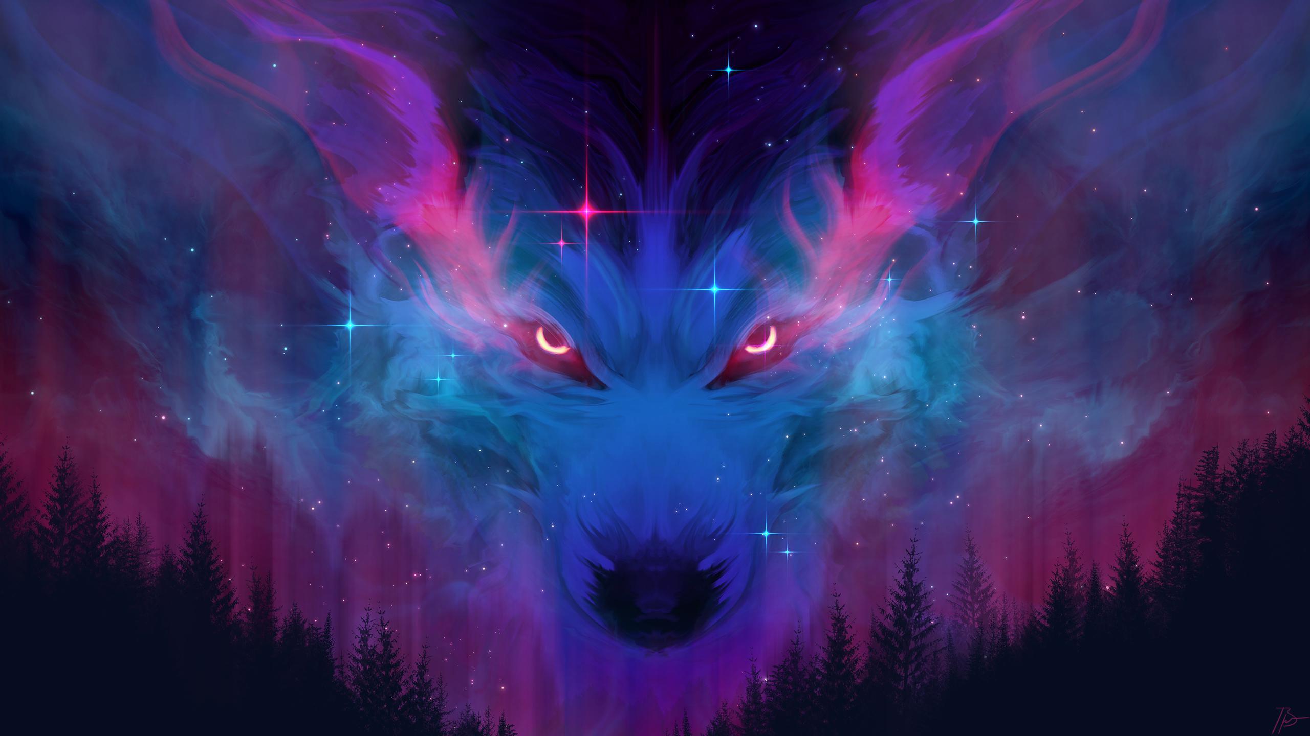 251 2513283 3d wolf wallpaper