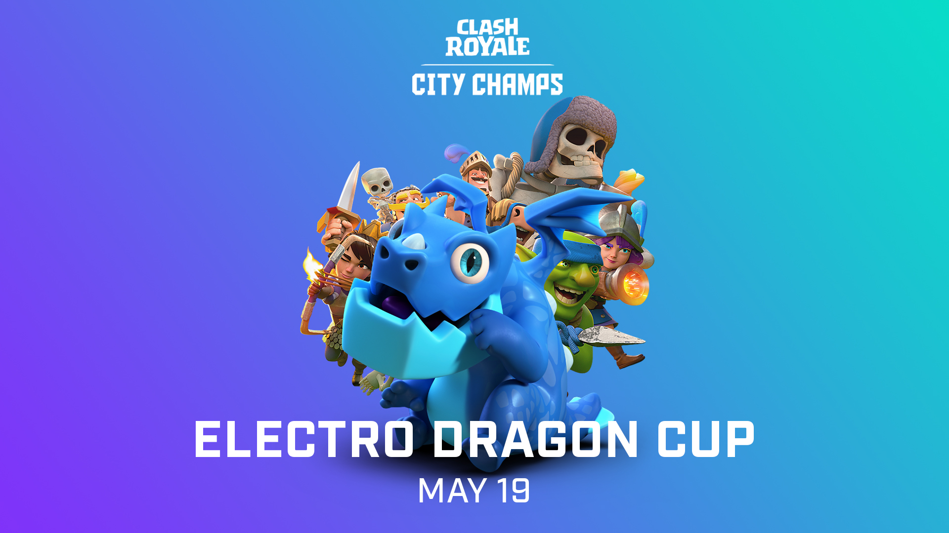Your Guide To Clash Royale City Champs Season 2 Super - Clash Royale Electro Dragon , HD Wallpaper & Backgrounds