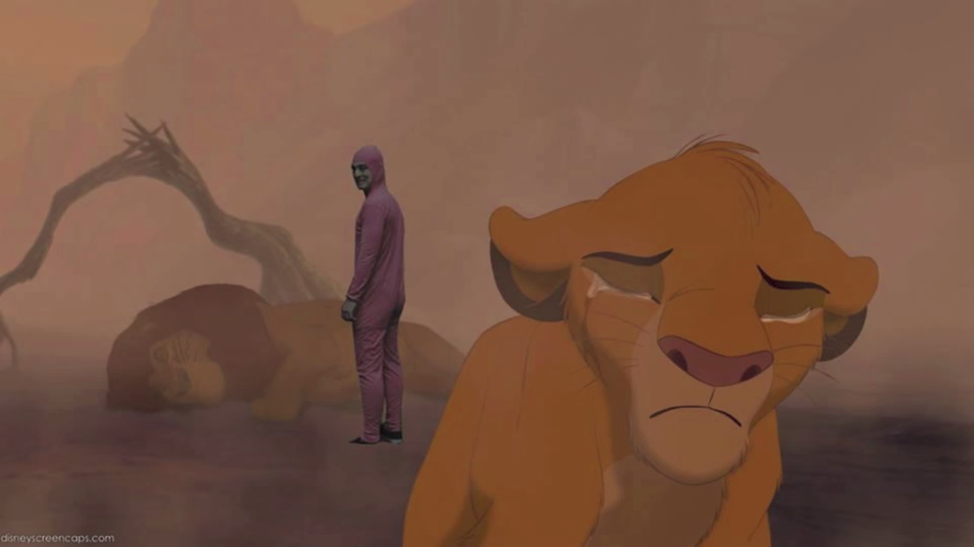 Lion King Mufasa Death Simba Cry , HD Wallpaper & Backgrounds