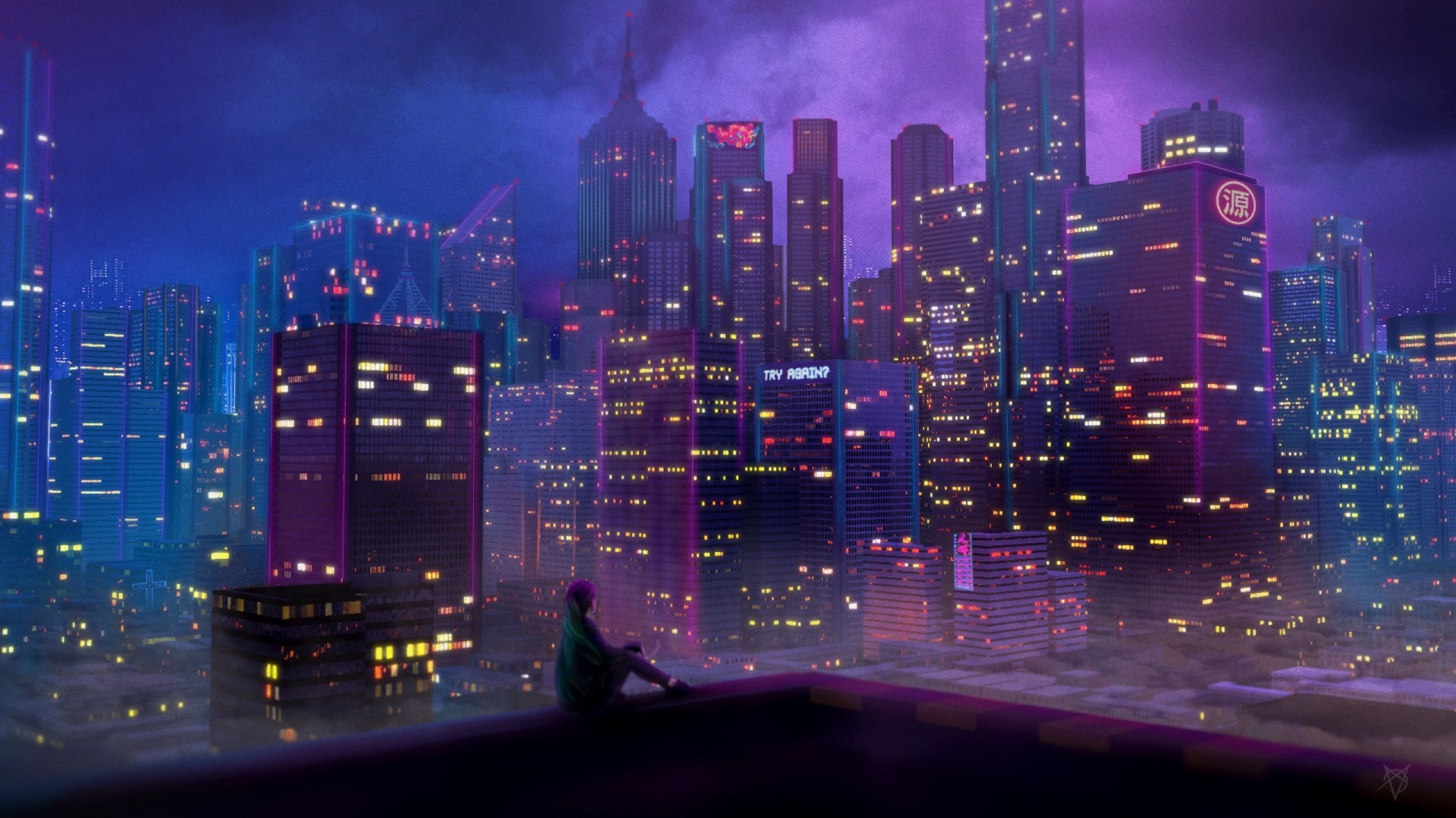 251 2517180 night city anime background