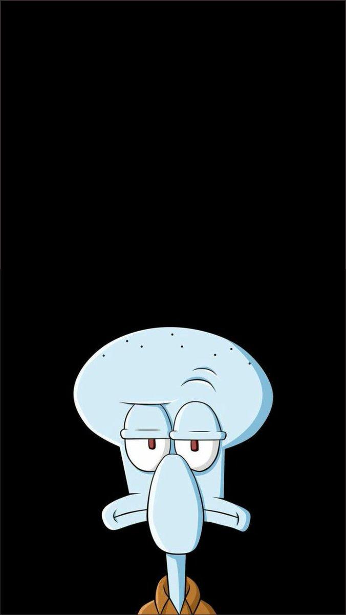 Butuh Yang Keren Ini 21 Wallpaper Spongebob Cakep Buat - Squidward Tentakel , HD Wallpaper & Backgrounds