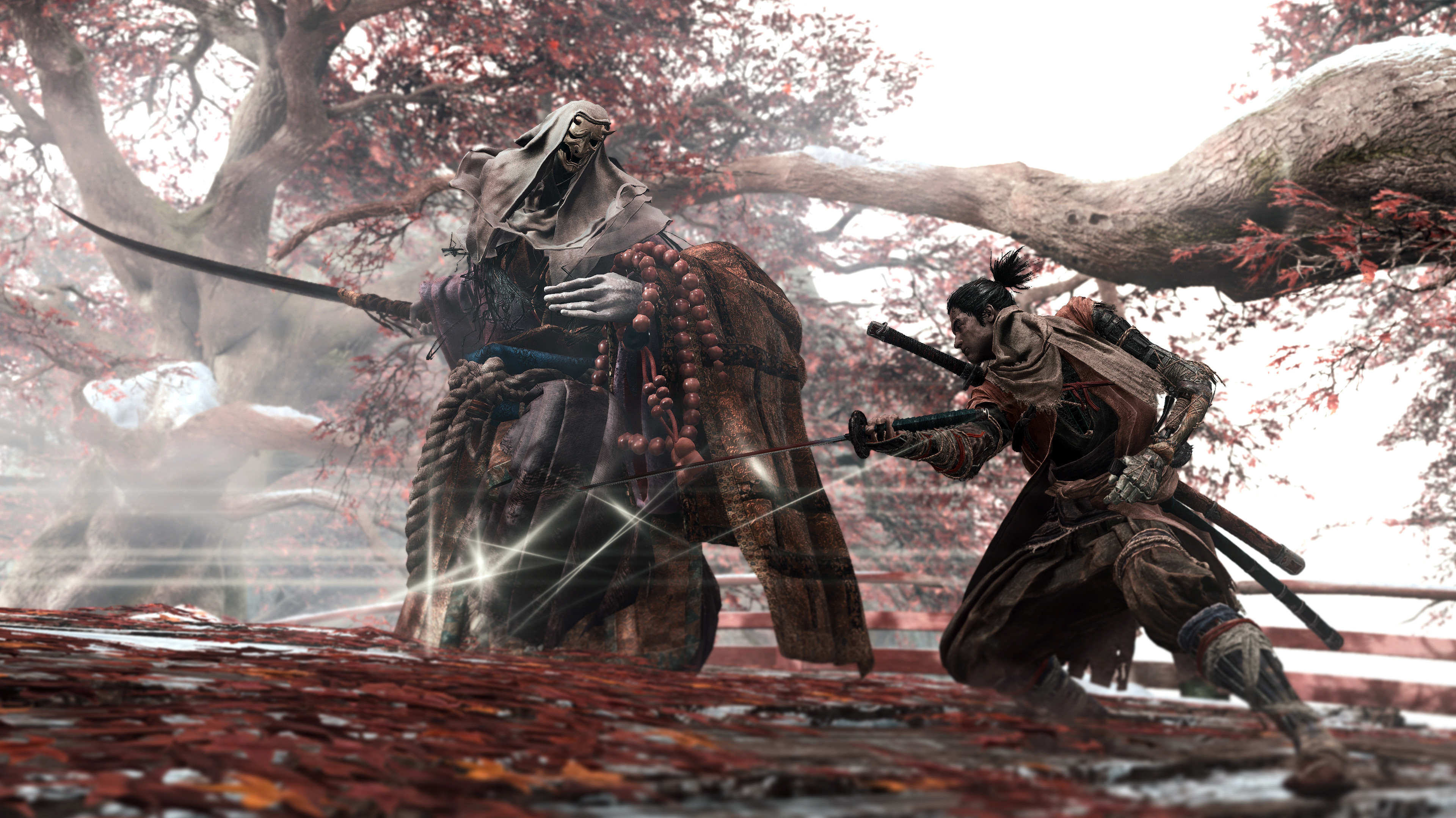 Shadows Die Twice Corrupted Monk Boss Fight 4k Sekiro
