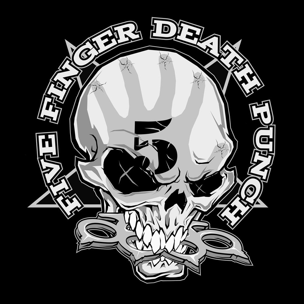 Five Finger Death Punch Kapuzenpullover Illustration 2520698