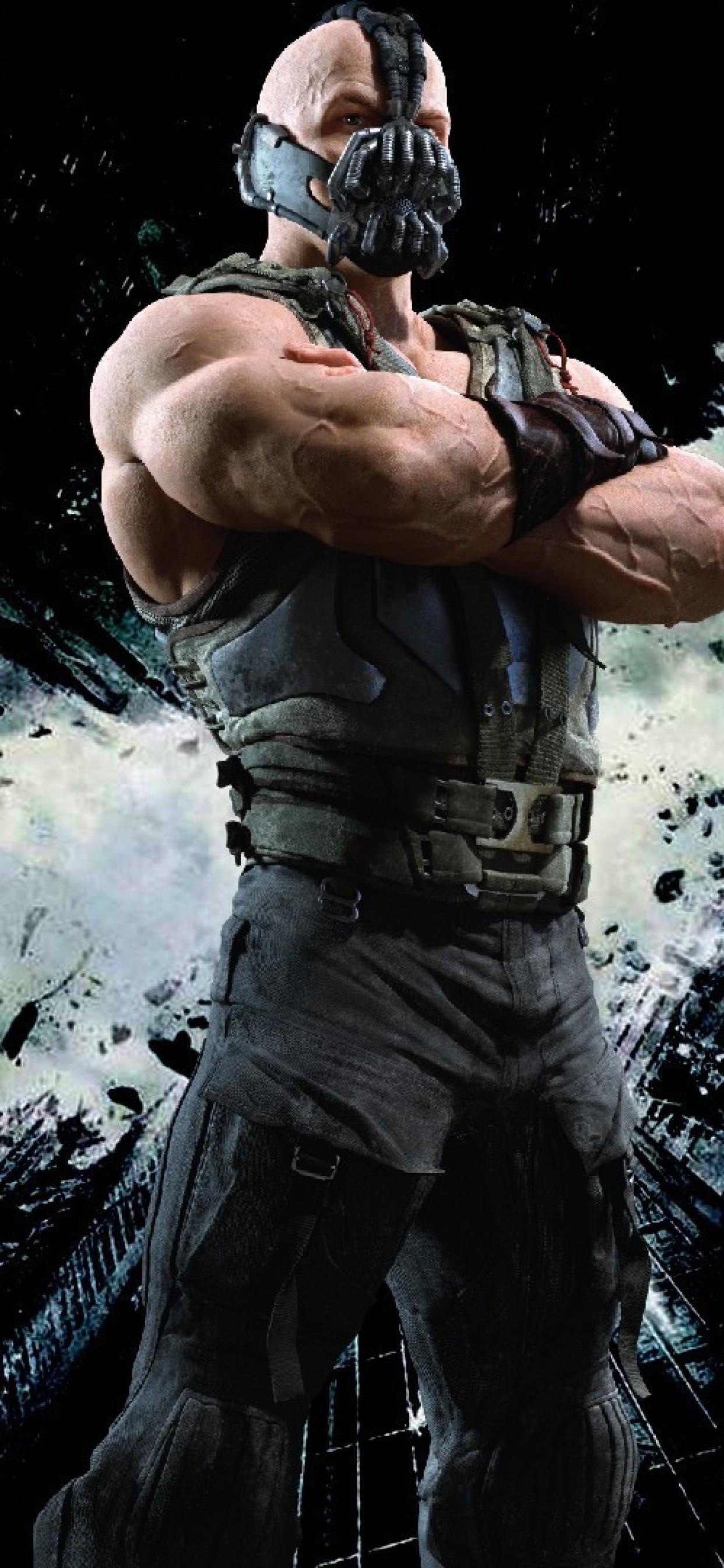 Iphone Xs Max Tom Hardy Wallpaper - Bane 2 - Dark Knight Rises , HD Wallpaper & Backgrounds