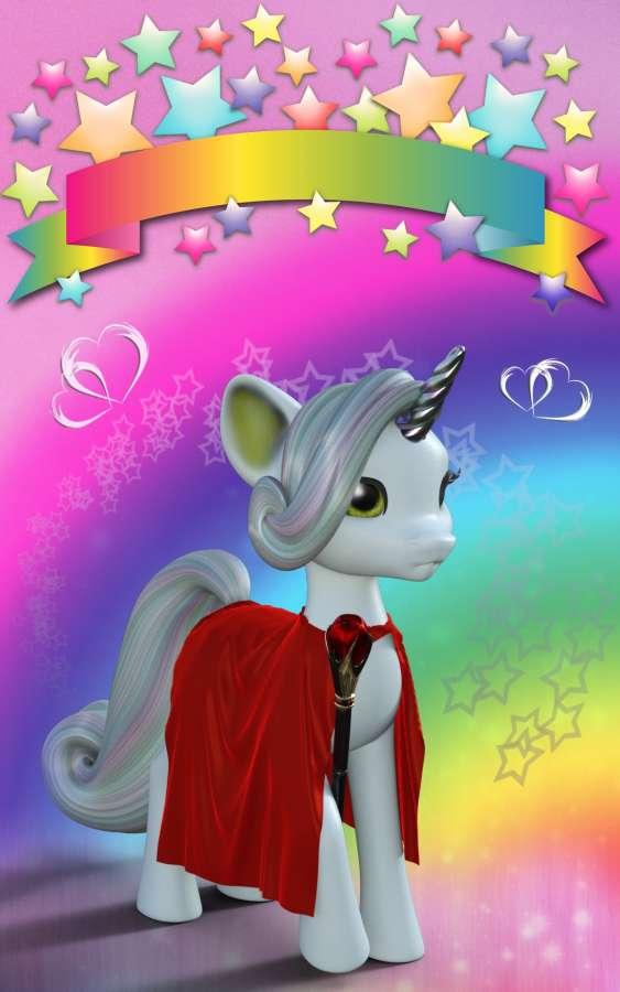 Unicornios Animados Para Fondo De Pantalla , HD Wallpaper & Backgrounds
