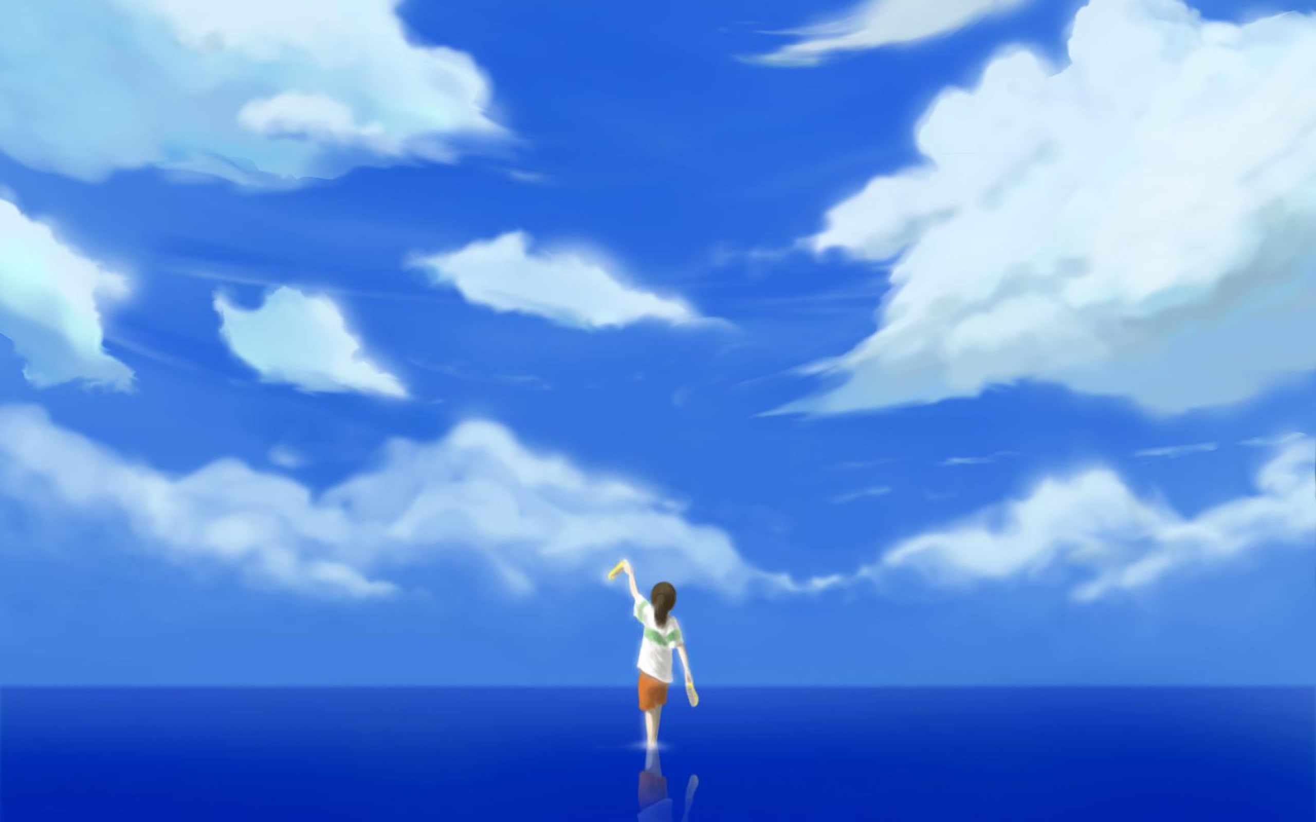 Spirited Away Sky 2533364 Hd Wallpaper Backgrounds Download