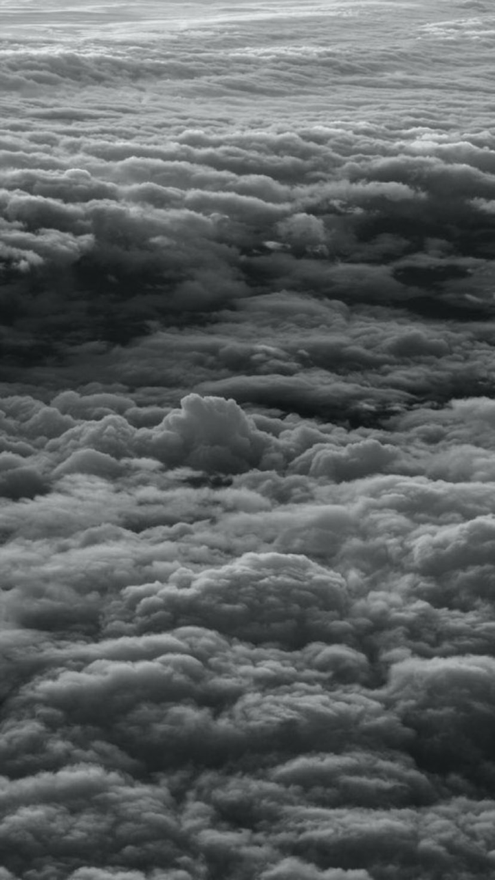 Cloud Sky And Wallpaper Image Black And White Clouds Wallpaper Iphone 2533931 Hd Wallpaper Backgrounds Download