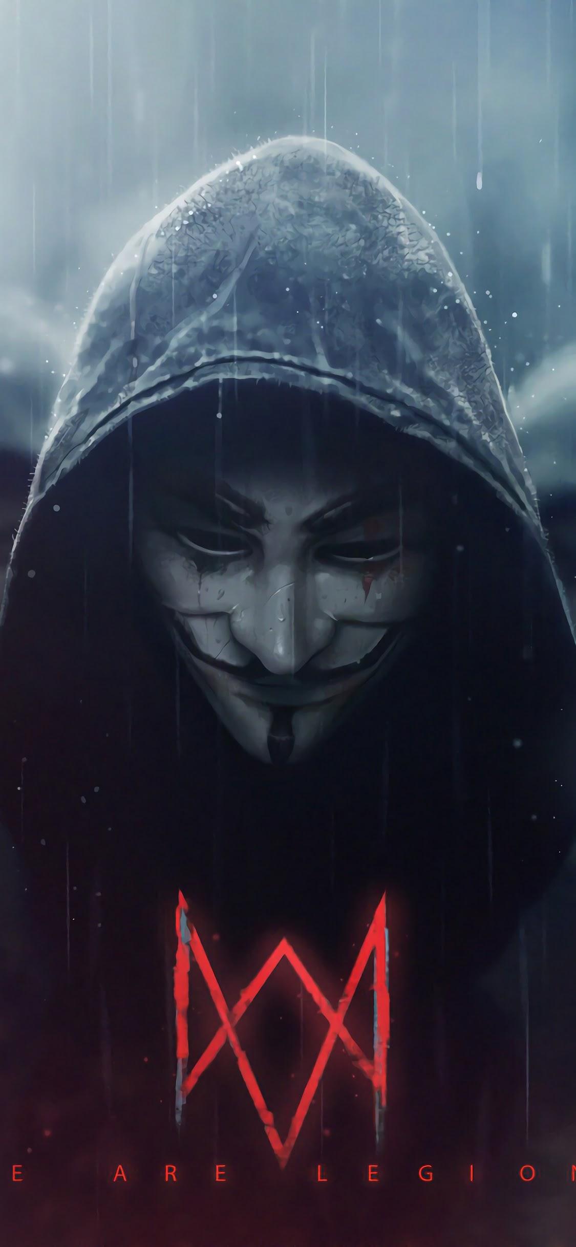 Watch Dogs Legion, Logo, Anonymous, 4k, - Alan Walker Wallpaper Hd , HD Wallpaper & Backgrounds