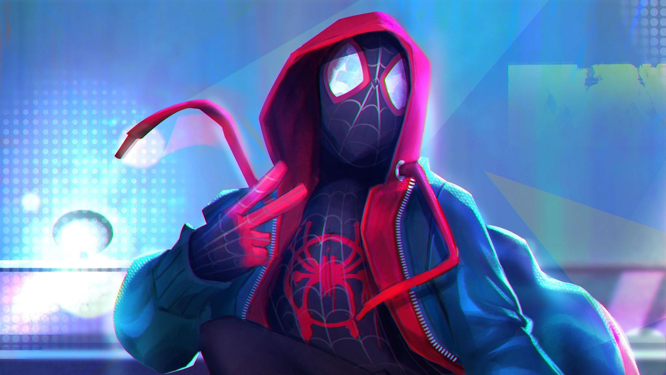 Spider Man Into The Spider Verse 4k 2534209 Hd Wallpaper