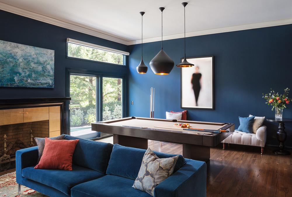 Blue Color Decoration Ideas For Living Room - Blue Living Room Color Ideas , HD Wallpaper & Backgrounds