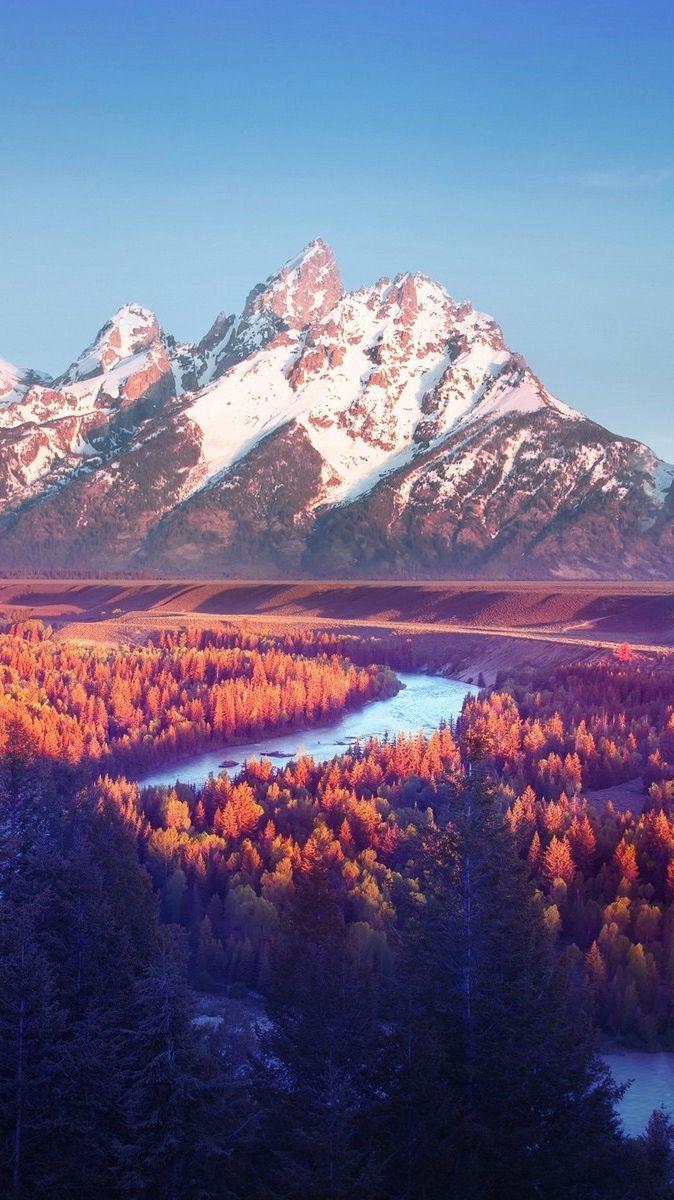 Grand Teton National Park, Snake River Overlook , HD Wallpaper & Backgrounds