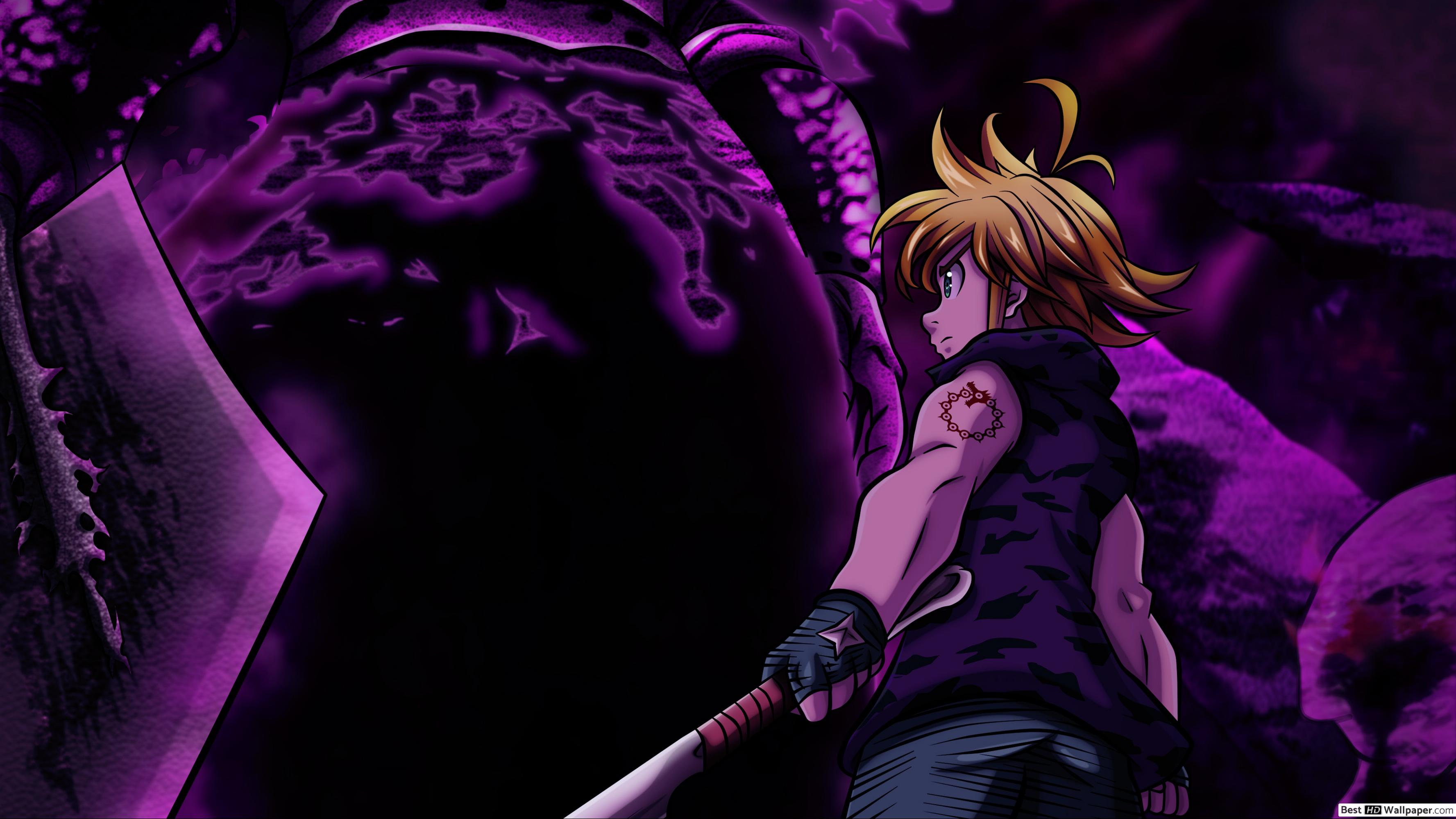 Meliodas Demon King Form 2543423 Hd Wallpaper Backgrounds Download