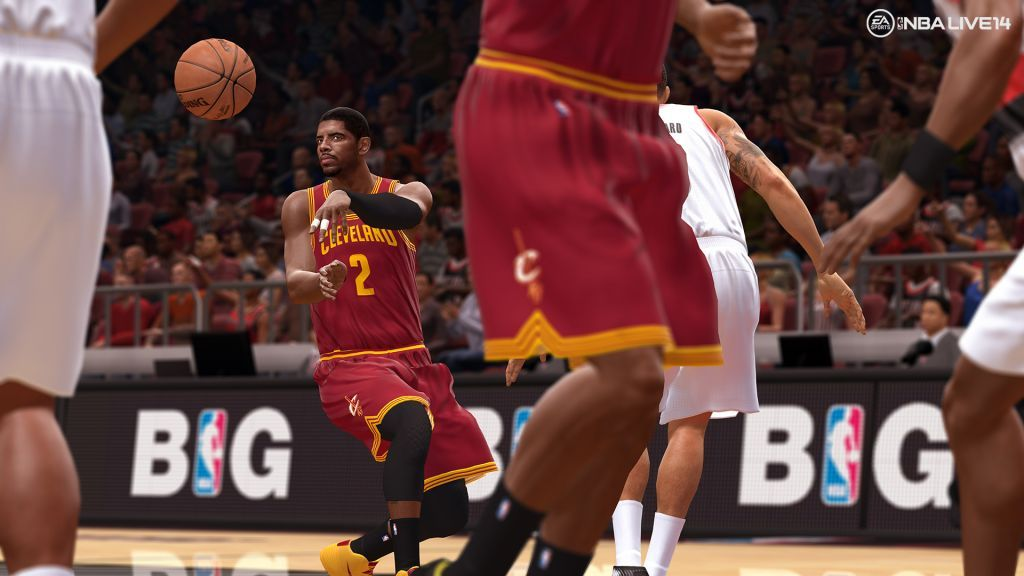 Nbalive14 Ps4 Kyrie Irving Pass   Title Nbalive14 Ps4 - Kyrie Irving Nba Live 18 , HD Wallpaper & Backgrounds
