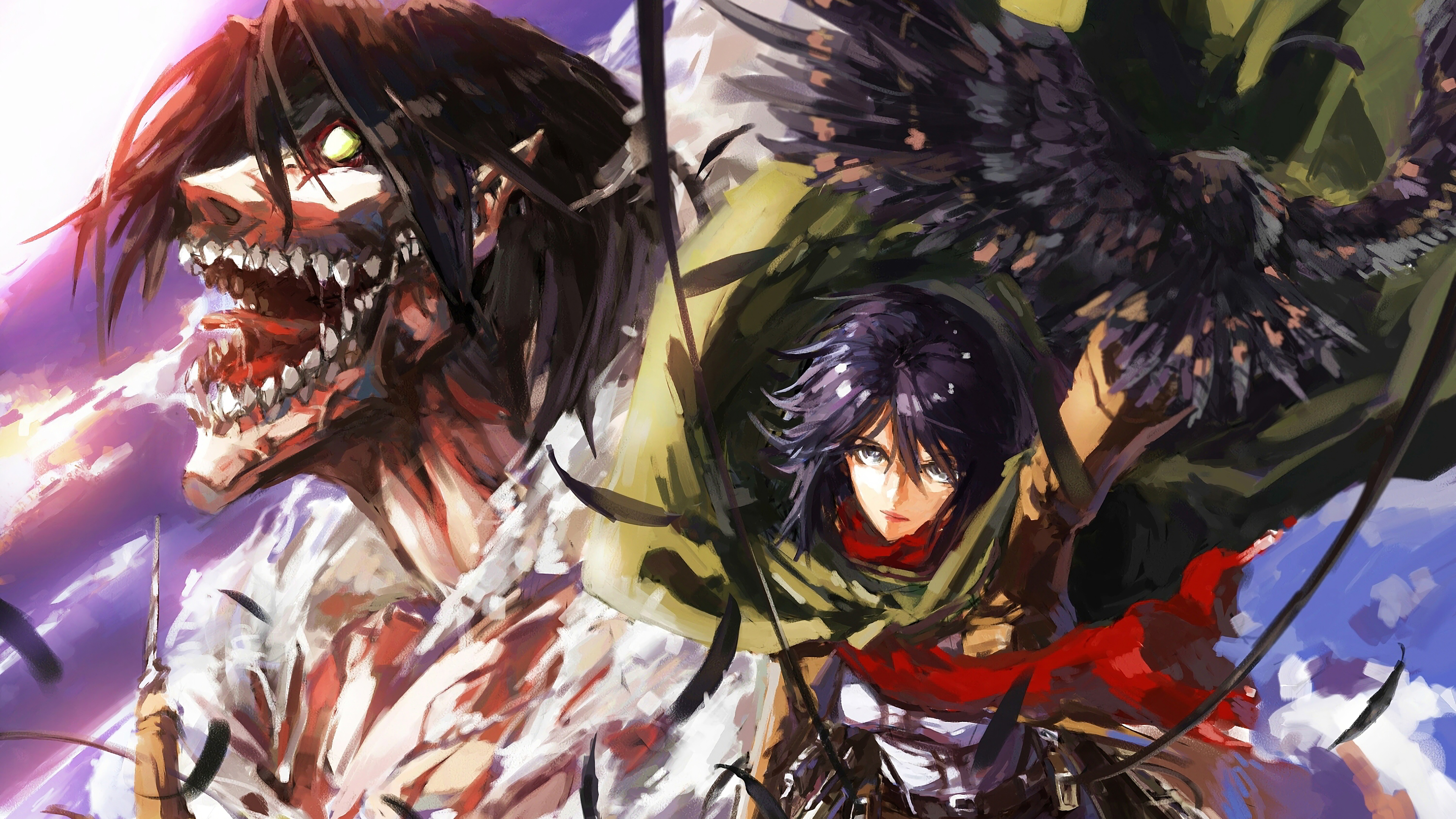 Attack On Titan 2546902 Hd Wallpaper Backgrounds Download