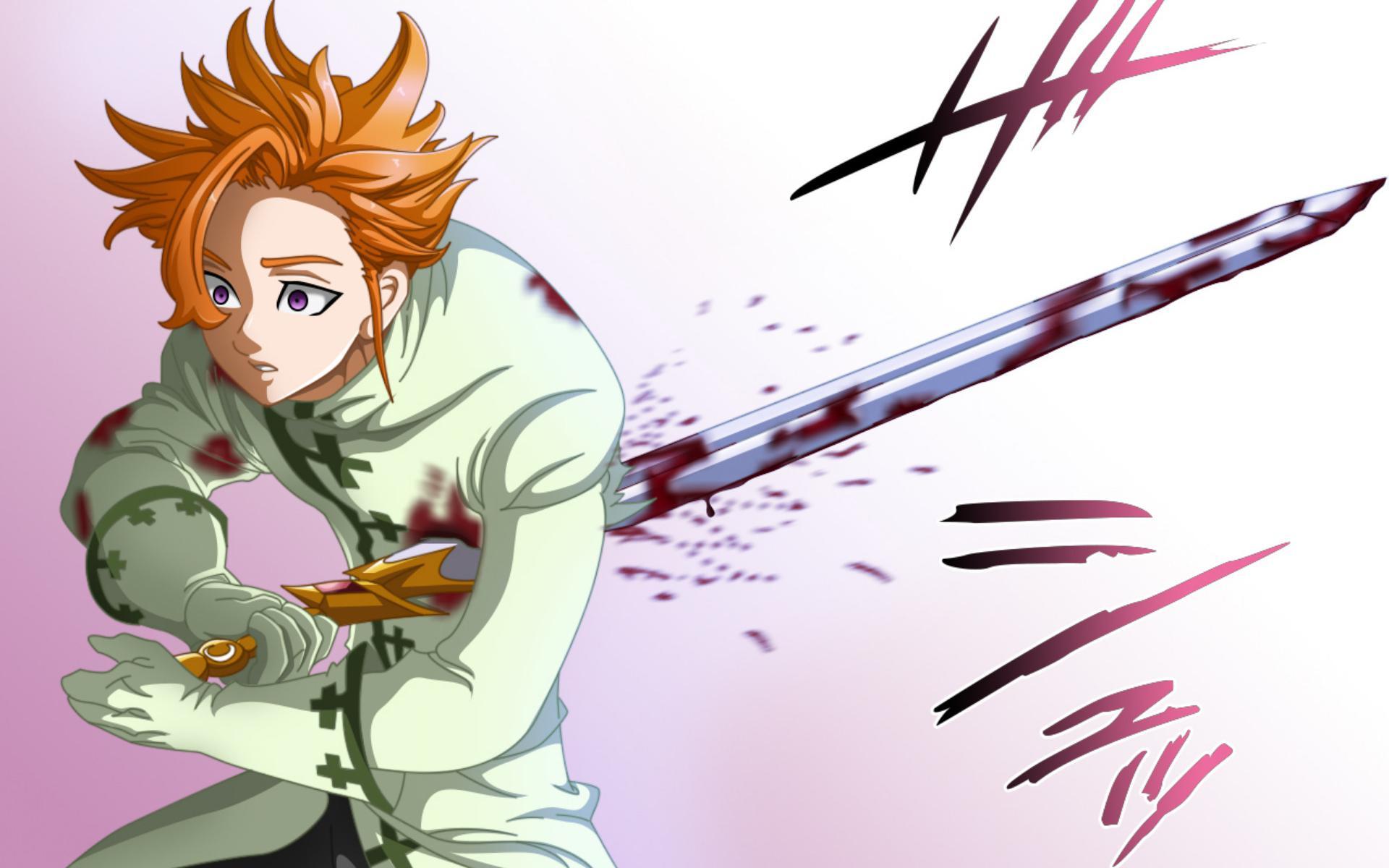 Wallpaper Manga King Nanatsu No Taizai The Seven Deadly Arthur