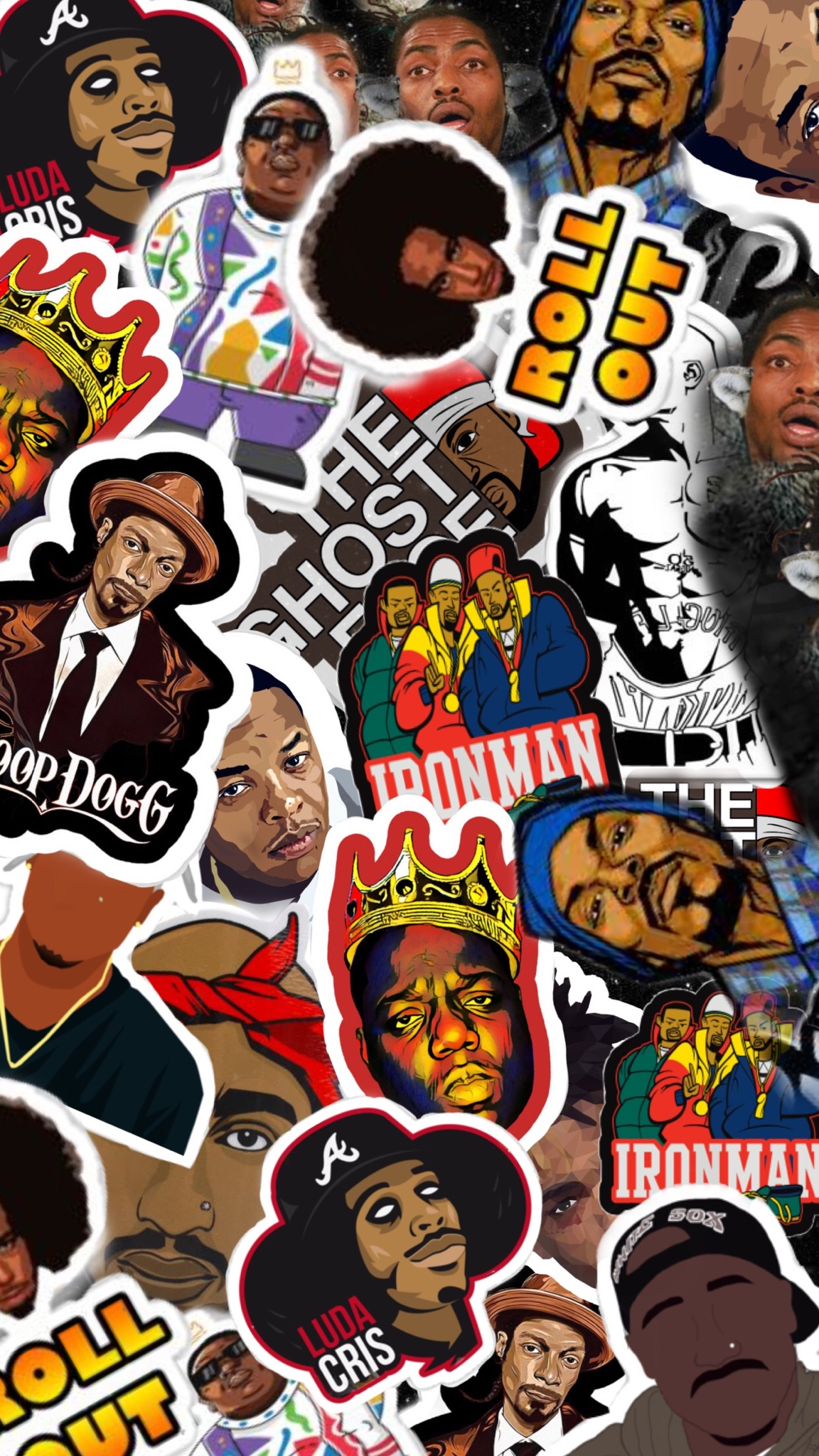 Cool Animated Wallpapers Rappers 2548442 Hd Wallpaper