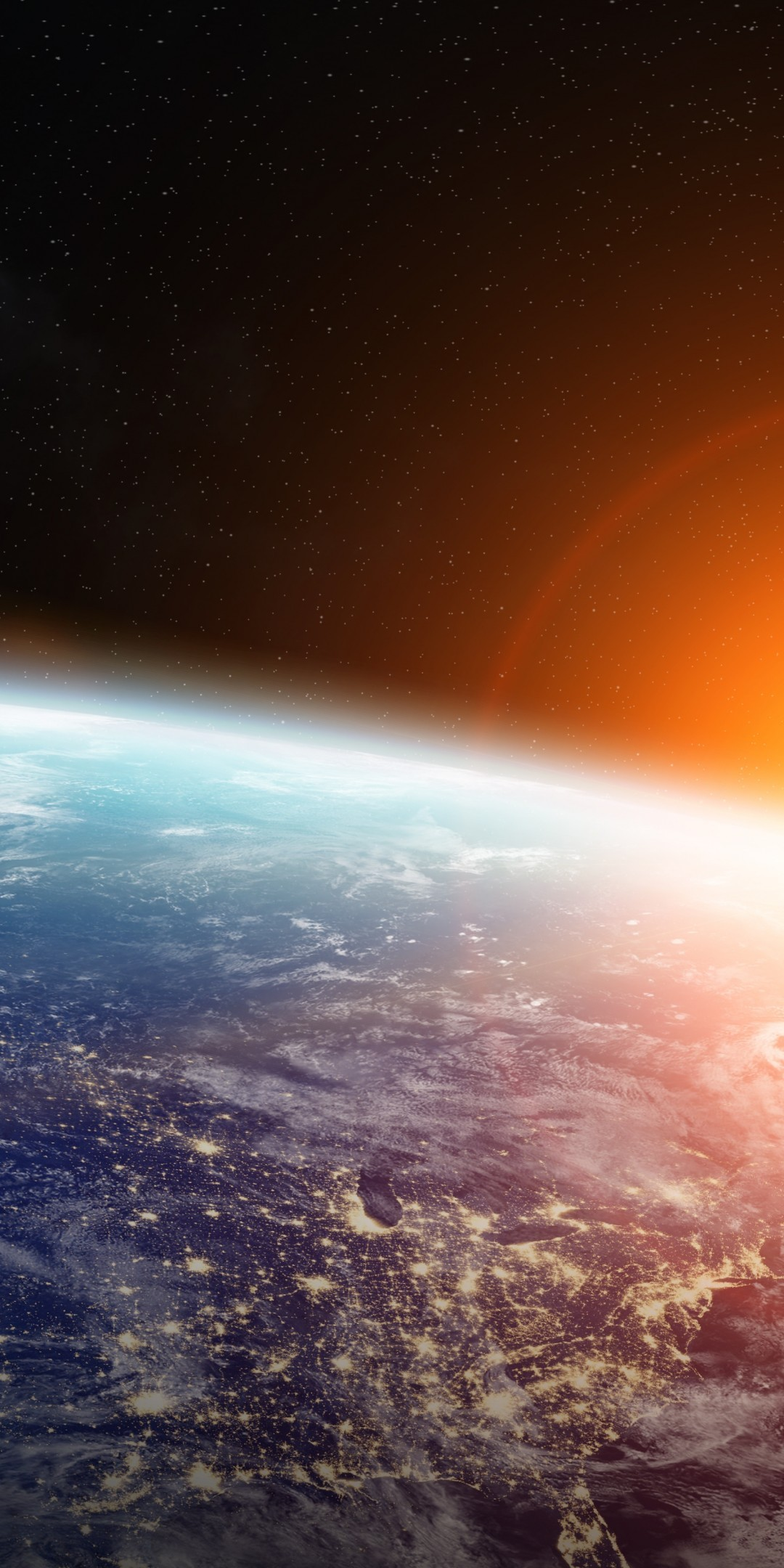 Earth, Sun, Stars, Moon - Catholic Days Of Creation , HD Wallpaper & Backgrounds