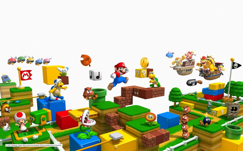 Mario Wallpapers Hd Wallpaper Super Mario Bros Wallpaper Hd
