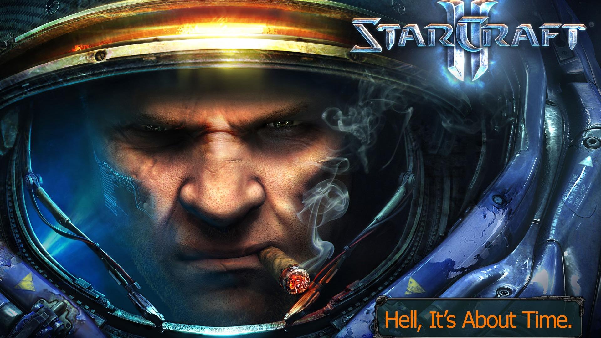 Starcraft 2 Wallpaper , HD Wallpaper & Backgrounds