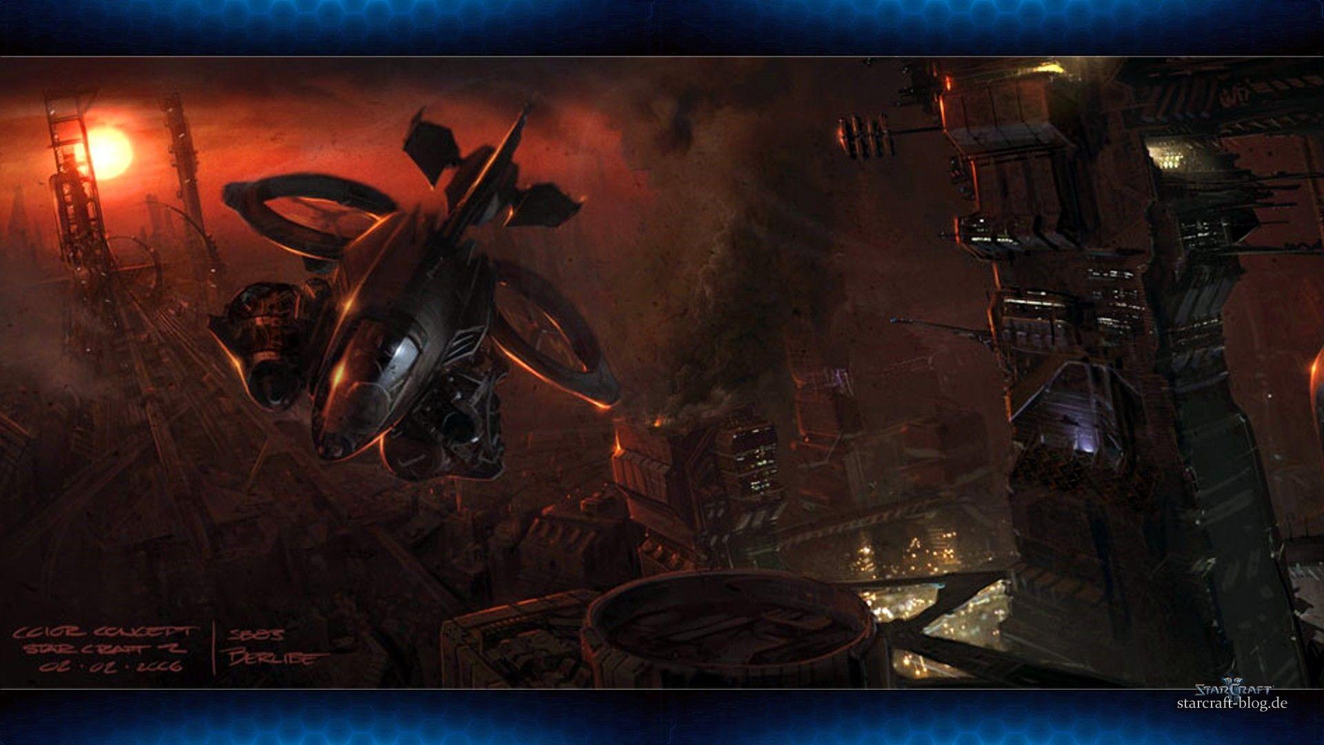Starcraft 2 Concept Art, Place, Break, Banshee, Gallery, - Starcraft 2 Wallpapers Lotv , HD Wallpaper & Backgrounds