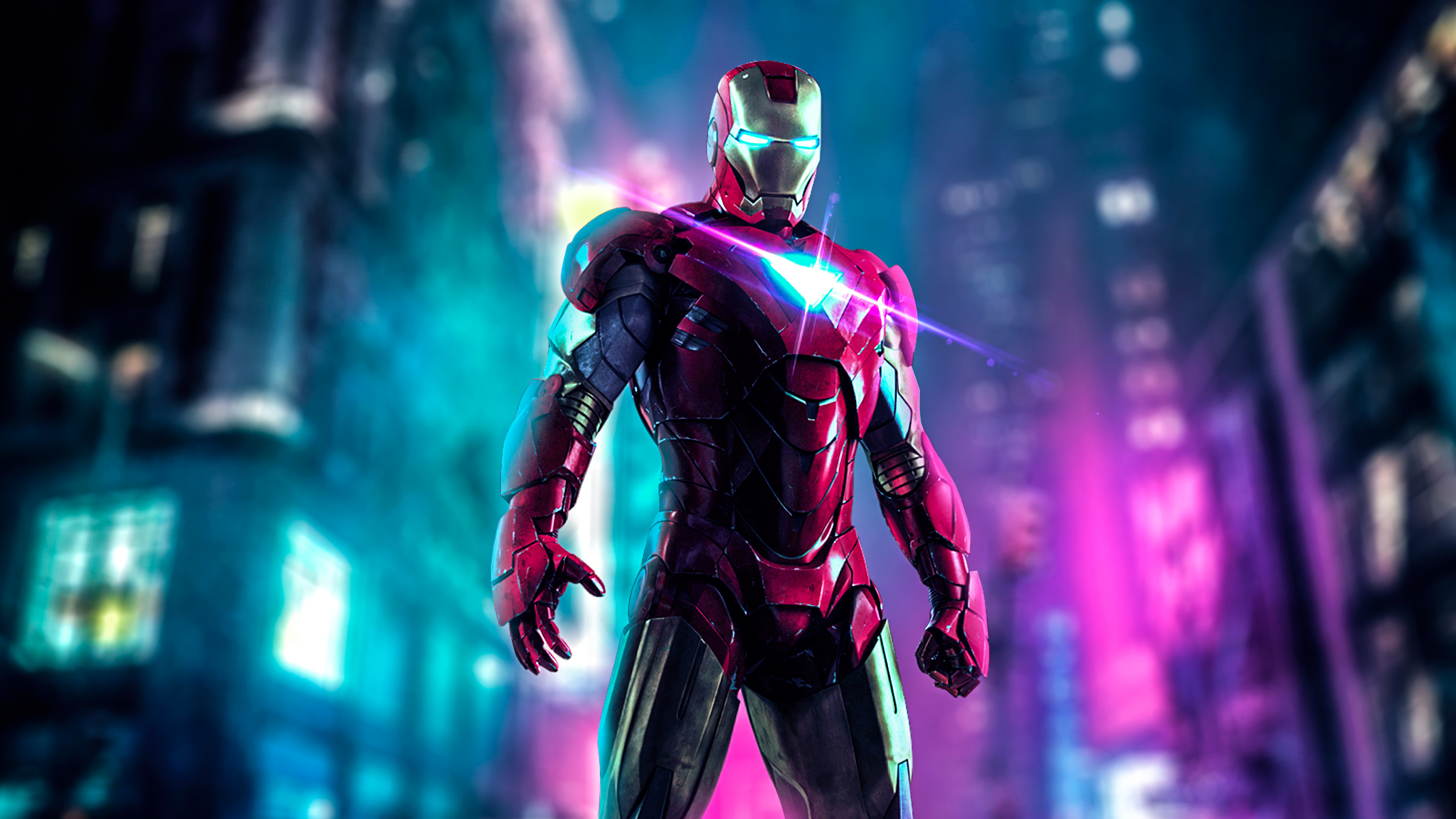 Iron Man 4k 4k Wallpaper Iron Man 2560074 Hd Wallpaper Backgrounds Download