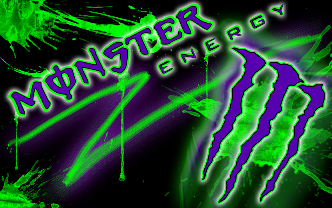 Monster Wallpaper Hd Hd Energy Drink Gambar Wallpaper